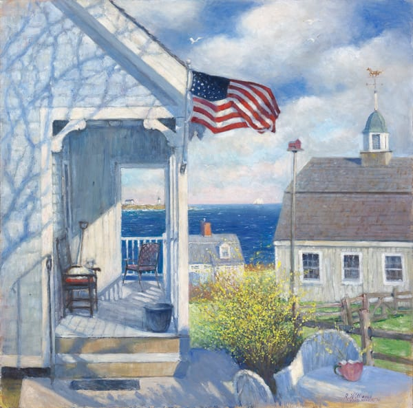 House On Whale Cove Art | capeanngiclee