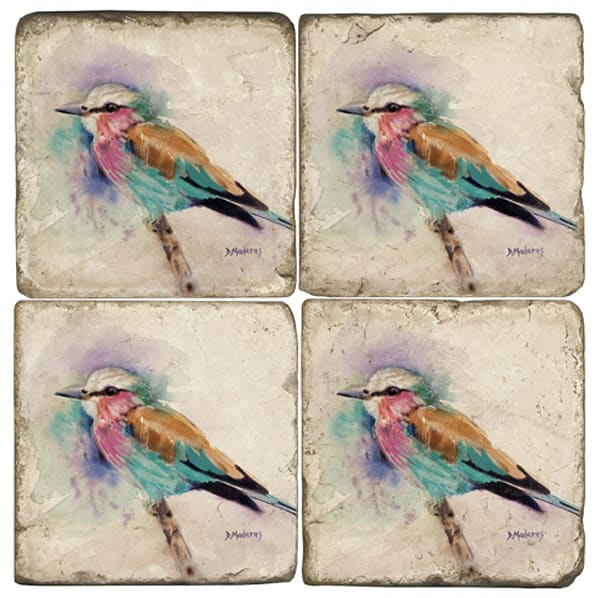Jim's Bird set of 4 Coaster Set | Arizona