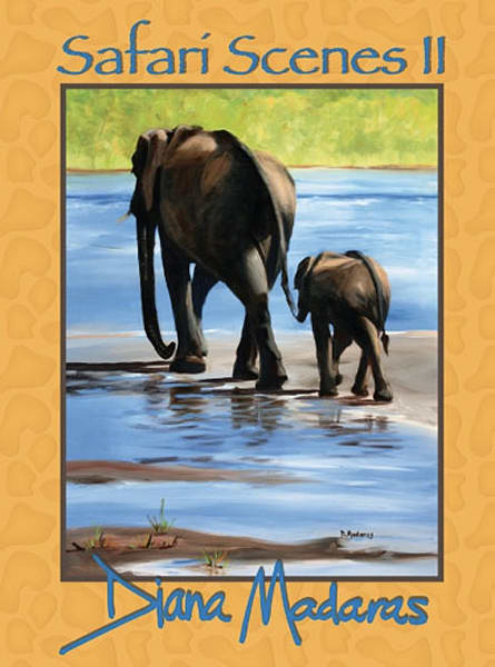 Safari Scenes II by Diana Madaras | Cards