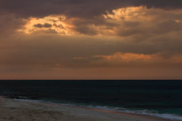 Fine Art Photographs of Nassau Cloudy Sunset by Michael Pucciarelli
