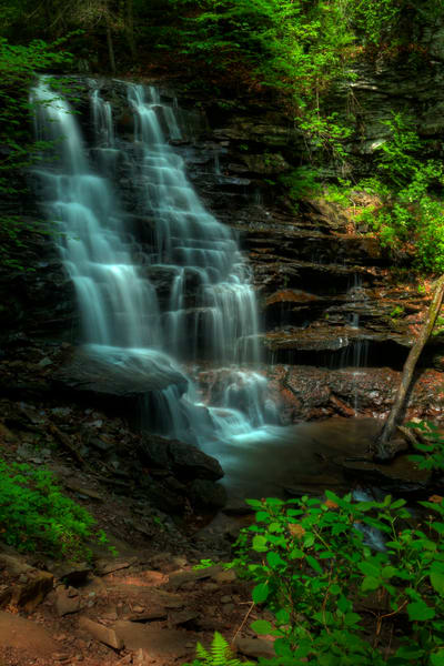 Fine Art Photographs of Waterfalls of Ricketts Glen State Park by Michael Pucciarelli