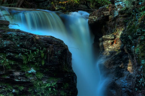Fine Art Photograph of Ricketts Glen Waterfalls by Michael Pucciarelli