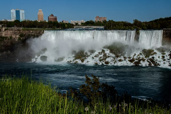 Waters of Niagara Falls Fine Art Photograph by Michael Pucciarelli