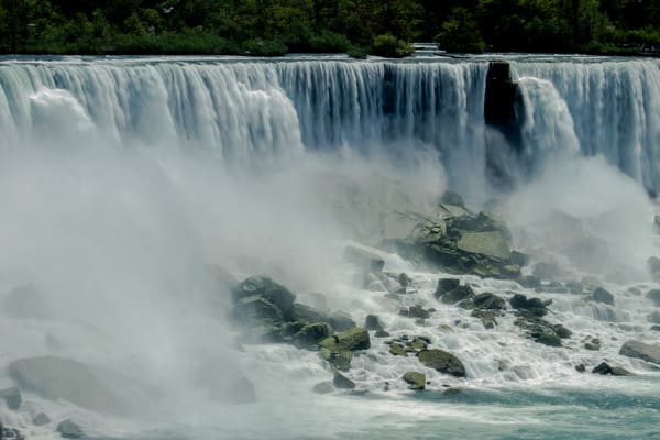 Fine Art Photographs of a Sunny Niagara Falls by Michael Pucciarelli