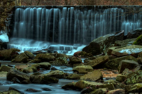 Fine Art Photographs of Large Waterfalls in Susquehanna Falls by Michael Pucciarelli