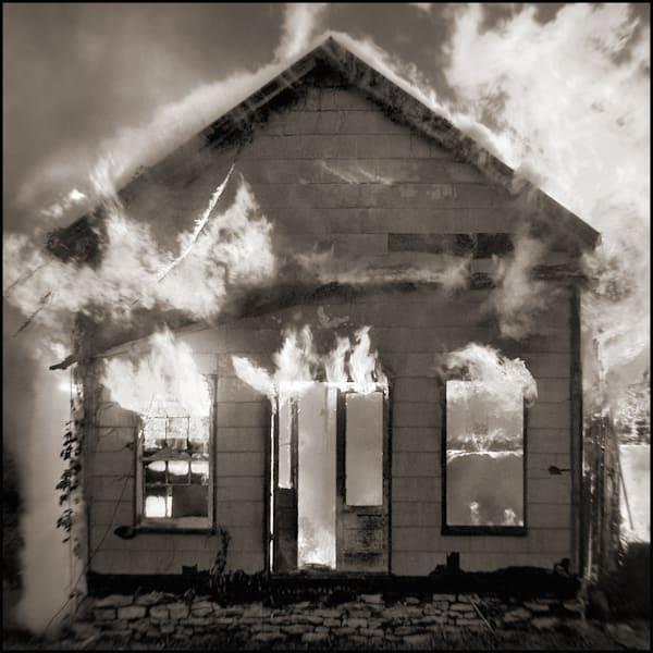 Burning House Photography Art | Tom McFarlane Photography