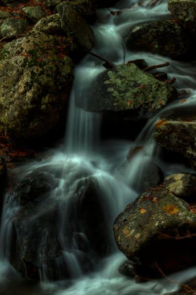 A Fine Art Photograph of White Oak Canyon Falls by Michael Pucciarelli