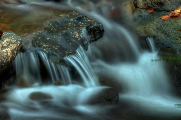 A Shenandoah Fine Art Photograph of White Oak Canyon Falls by Michael Pucciarelli