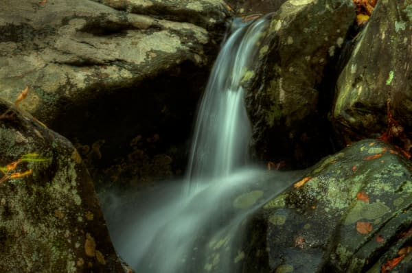 A Fine Art Waterfall Photograph of White Oak Canyon Falls by Michael Pucciarelli