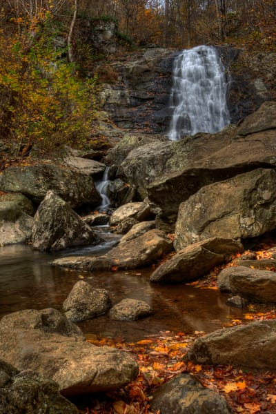 Fine Art Photograph of White Oak Canyon Falls by Michael Pucciarelli
