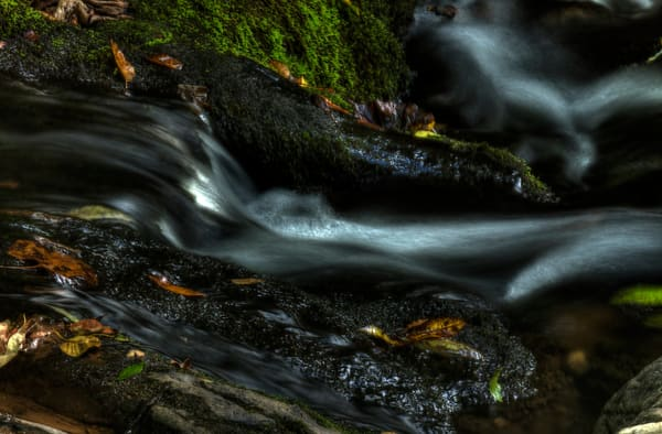 Fine Art Photographs of White Oak Canyon Waterfalls in Shenandoah National Park by Michael Pucciarelli