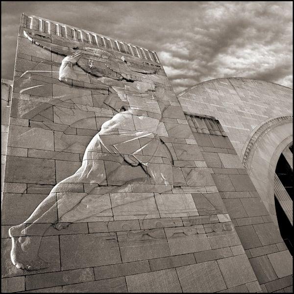Union Terminal Union Lady Photography Art | Tom McFarlane Photography