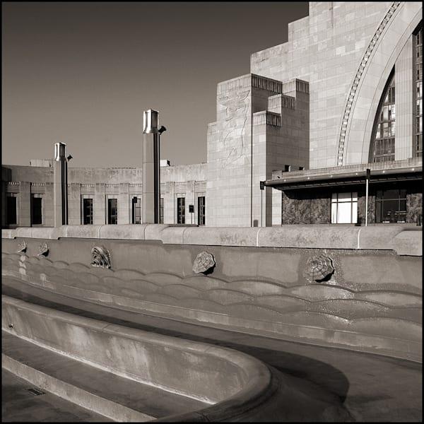 Union Terminal Fountain #7 Photography Art | Tom McFarlane Photography