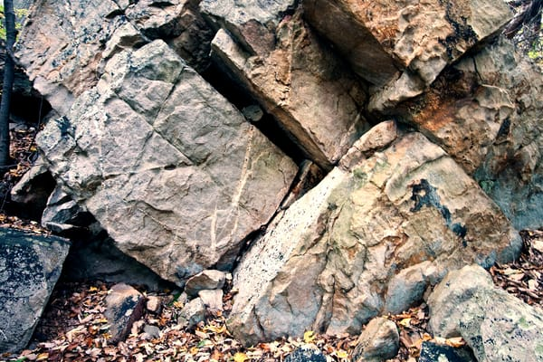 A Fine Art Photograph of Rock in Sugarloaf Mountain by Michael Pucciarelli