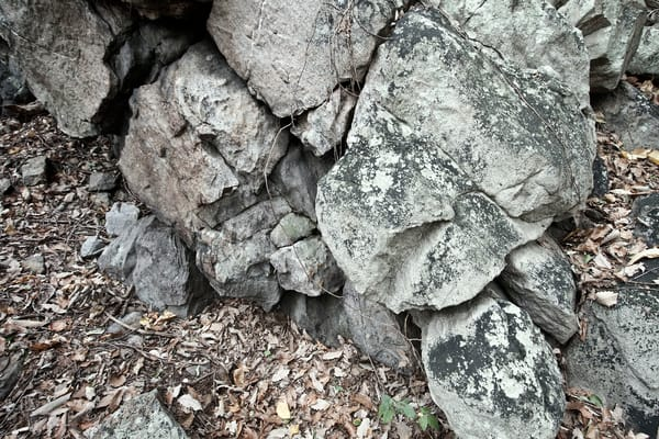 A Fine Art Photograph of Rocks in Sugarloaf by Michael Pucciarelli