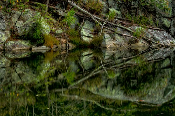 Great Falls Reflection Fine Art Photograph by Michael Pucciarelli