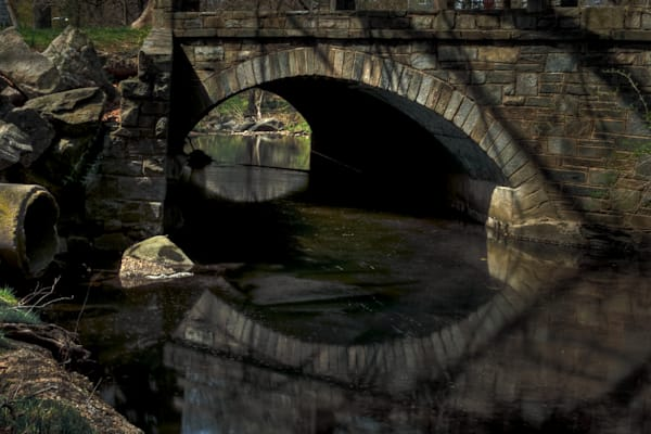 Fine Art Photographs of Bridge Reflections in Kensington by Michael Pucciarelli
