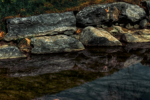 Fine Art Photographs of Rock Creek Reflections by Michael Pucciarelli
