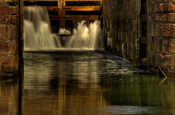 Waters of Great Falls Fine Art Photograph by Michael Pucciarelli