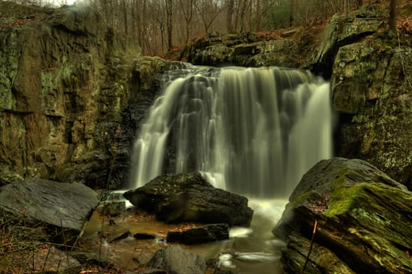 Waters of Kilgore Falls Fine Art Photograph by Michael Pucciarelli