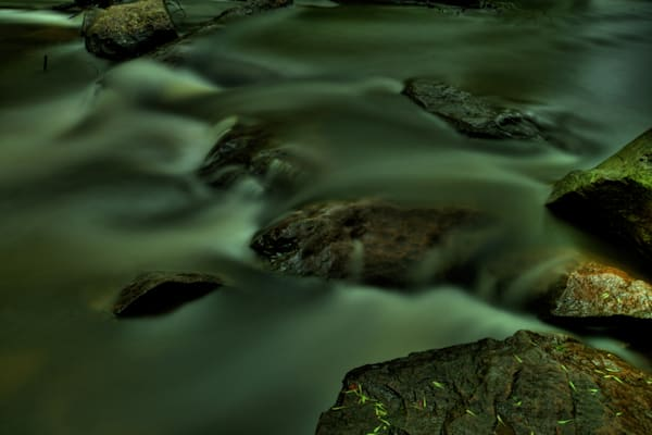 Waters of Rock Creek Fine Art Photograph by Michael Pucciarelli