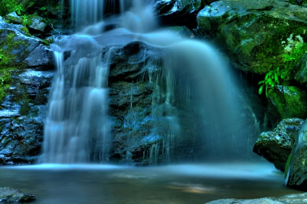 Fine Art Photograph of Dark Hollow Falls by Michael Pucciarelli