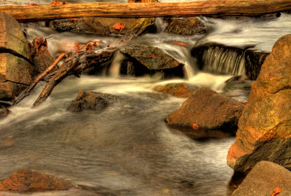 Fine Art Photograph of Waterfall on Billy Goat Trail by Michael Pucciarelli