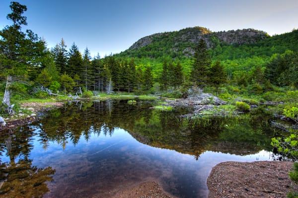 Reflection Pool by Jordans Pond Fine Art Photograph | JustBob Images