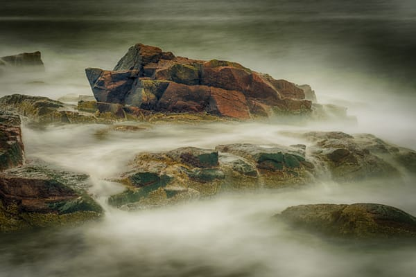 Rocks Near Thunder Hole Fine Art Photograph | JustBob Images