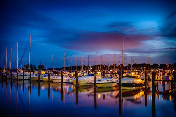 Havre de Grace Marina Fine Art Photograph | JustBob Images
