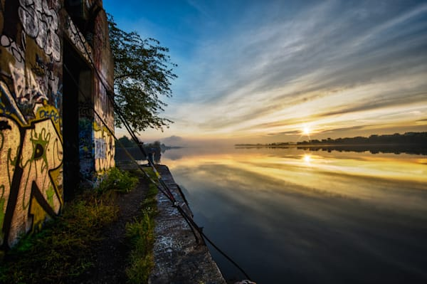 Sunrise on Graffiti Underground Fine Art Photograph | JustBob Images