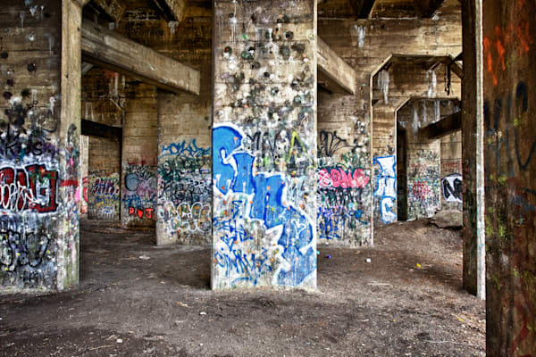 Graffiti Walls Fine Art Photograph | JustBob Images