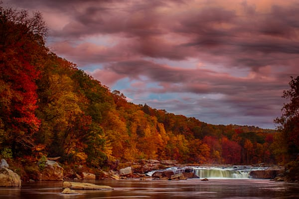 Ohiopyle Falls Fine Art Photograph | JustBob Images