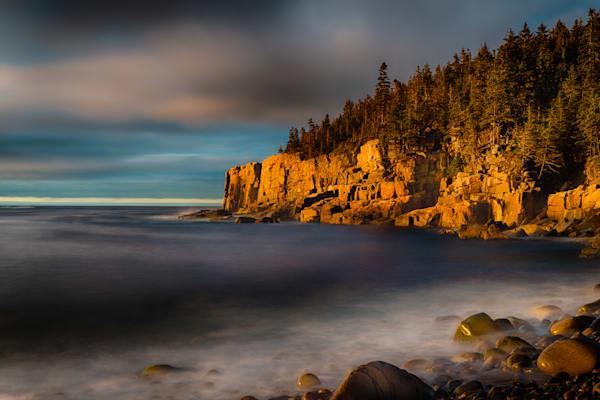 Sunrise on Otter Cliffs Fine Art Photograph | JustBob Images