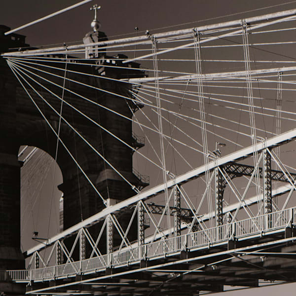 Roebling 2 Photography Art by Tom McFarlane Photography