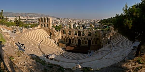 Acropolis Odeon of Herodes Atticus - Athens - Greece