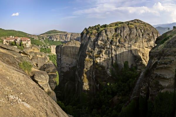 Varlaam, Rousanou and Agia Triada Monasteries - Meteora - Greece