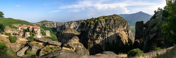 Varlaam and Rousanou Monasteries - Meteora - Greece