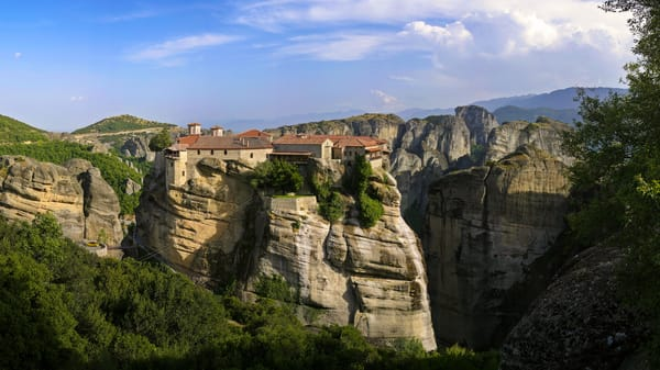 Varlaam Monastery - Meteora - Greece