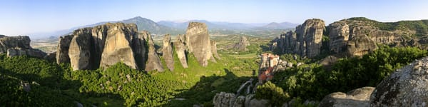 Valley of Meteora - Meteora - Greece