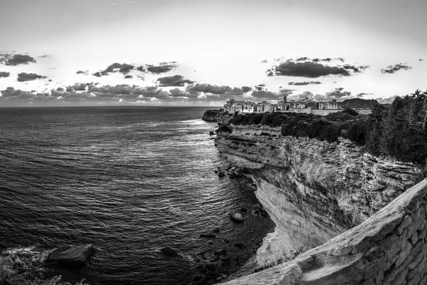 Apres Soleil - Bonifacio - Corsica - France B&W