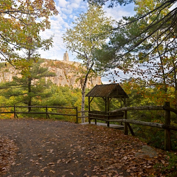 Mohonk Mountain House Tower and Chalet - New Paltz - New York