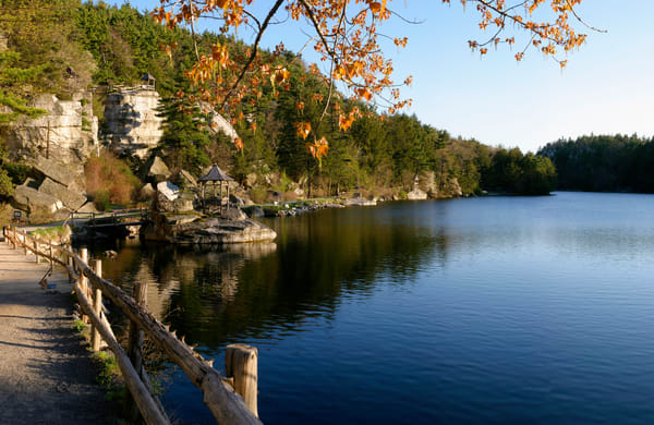 Mohonk Spring Reflection - New Paltz - New York