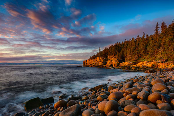 Otter Cliffs at Sunrise #4 Fine Art Photograph | JustBob Images