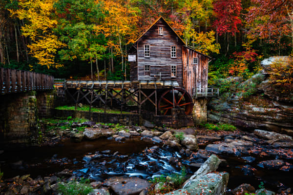 Glade Creek Mill #2 Fine Art Photograph | JustBob Images