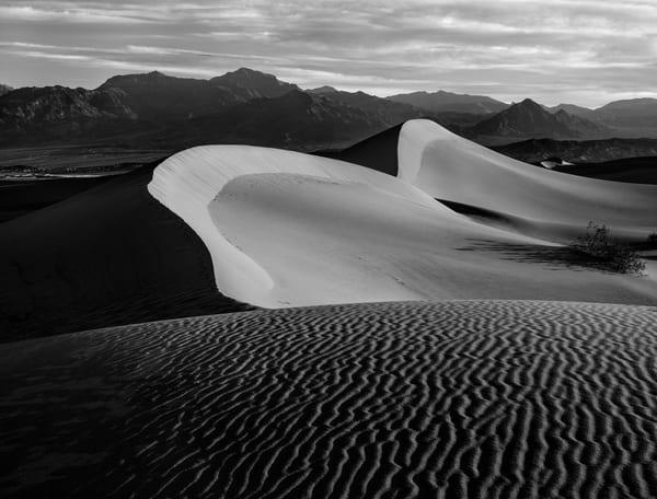 Death Valley's Mesquite Flats Sand Dunes