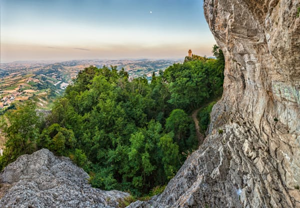 Cliff and Castle - San Marino - Italy
