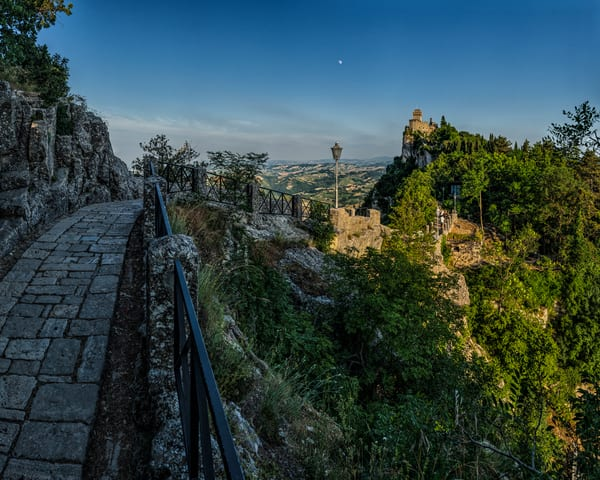 Path to the Tower - San Marino - Italy