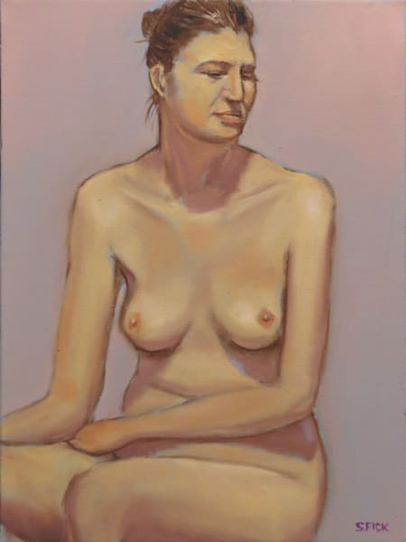 oil painting of nudes by steve fick