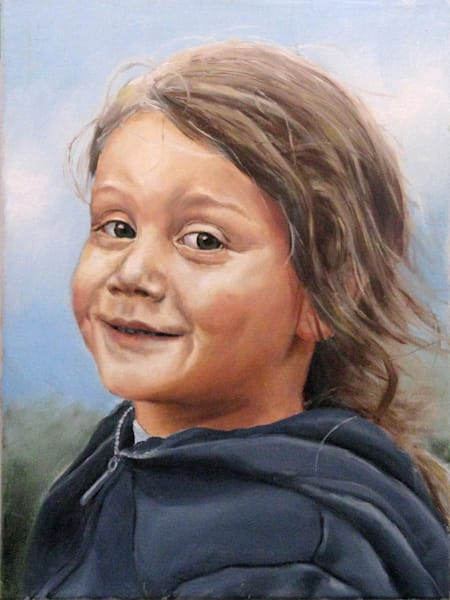 oil painting of portraits